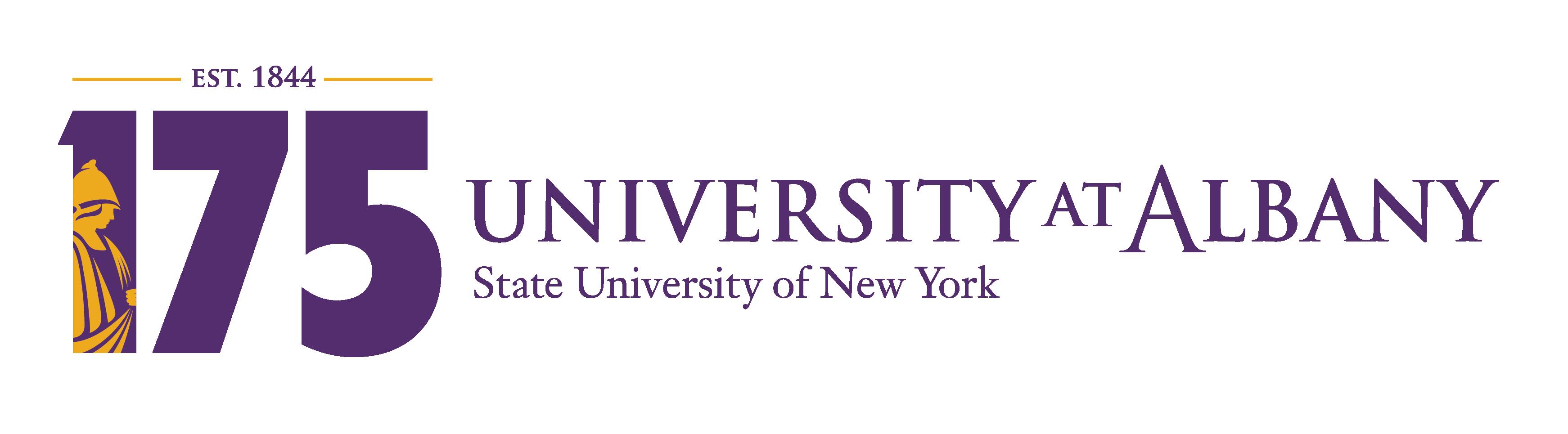 UAlbany 175th Anniversary Logo