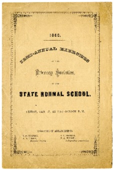Semi-Annual Exercise of the Literary Societies