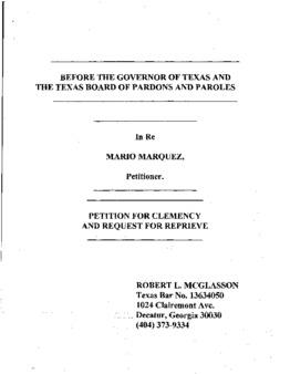 Marquez, Mario S, TX