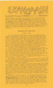 Skandalon, Vol. 4, No. 1