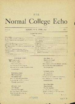The Echo Volume 5 Number 1