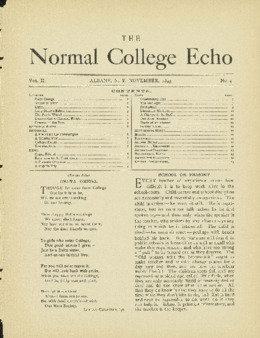 The Echo Volume 2 Number 4