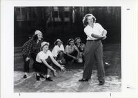 Page 109 B-Bottom: Women's softball game.