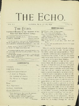 The Echo Volume 6 Number 11