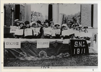 Page 61: Members of the Class of 1911 at their fifth reunion in 1916