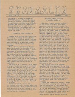 Skandalon, Vol. 1, No. 6