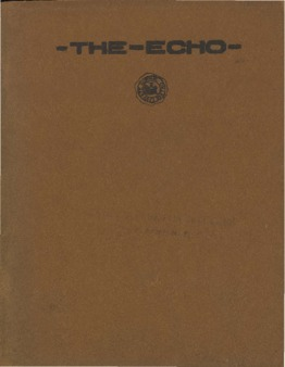 The Echo Volume 21 Number 3