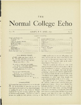 The Echo Volume 4 Number 9