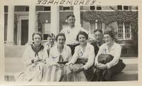 Katherine Ball, Margaret Crane, Nellie Parhhurst,...