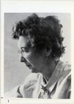 Page 104 B-Bottom: Faculty member Vivian Hopkins (English and comparative literature).