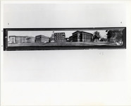 Page 71 A-Top: Panoramic view of campus highlighting 1929 addition of (l-r) Milne, Page and Richardson Halls.