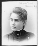 A portrait of Harriet E. Cowles, New York State...