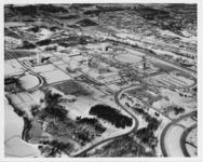 Construction of the University at Albany's main...