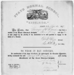 State Normal School diploma (