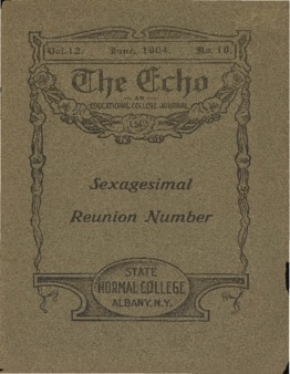 The Echo Volume 12 Number 10