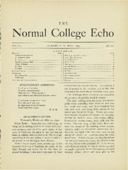 The Echo Volume 3 Number 10