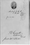 1862 portrait of Normal School alumnus Andress...