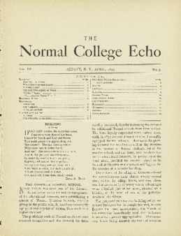 The Echo Volume 3 Number 9
