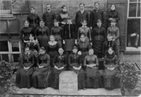 Group photograph of the class of 1884 (June 26,...