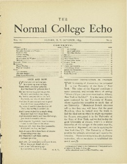 The Echo Volume 2 Number 3