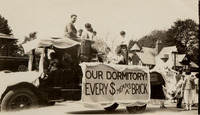 Fundraising float to finance the construction of...