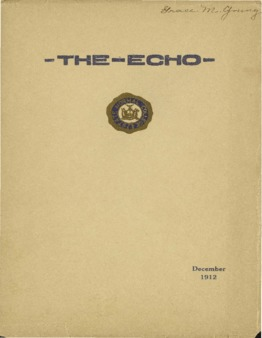 The Echo Volume 22 Number 4