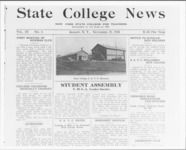 A reproduction of the first page of the State...