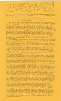 Skandalon, Vol. 3, No. 8
