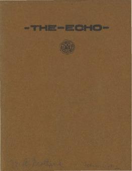 The Echo Volume 21 Number 6