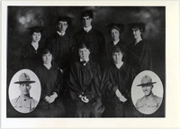 Page 66 A-Top: Myskania, which founded the Student Association in 1921.  Myskania continued to exist as the Student Judiciary until the 1970s.