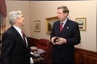 Presidents Kermit Hall and John Ryan, 2005 January 18