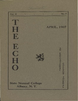 The Echo Volume 15 Number 8