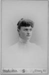 Portrait of student Annie L. Carey, New York State...