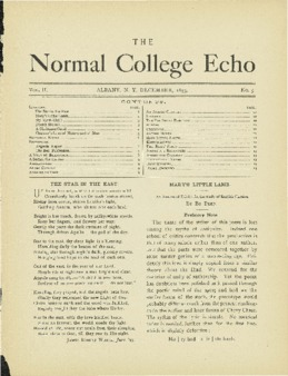 The Echo Volume 2 Number 5