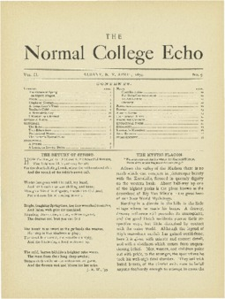 The Echo Volume 2 Number 9