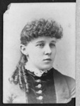 A portrait of Ida M. Isdell, New York State Normal...