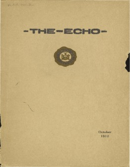 The Echo Volume 22 Number 2