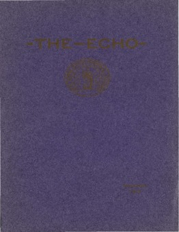 The Echo Volume 23 Number 1