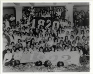 Page 71 B-Bottom: Class of 1920 and 1922 at a Halloween Party.
