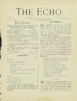 The Echo Volume 6 Number 10