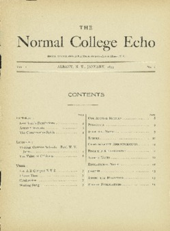 The Echo Volume 1 Number 6