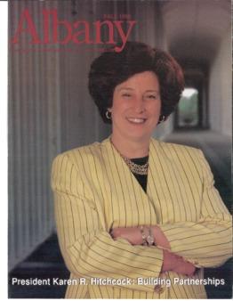 Albany, University at Albany Magazine with The Carillion