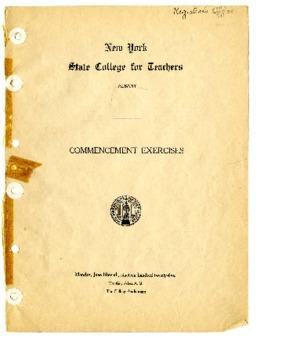 Commencement Program