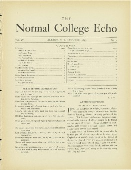 The Echo Volume 4 Number 3
