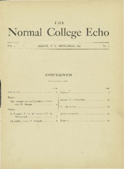 The Echo Volume 1 Number 2