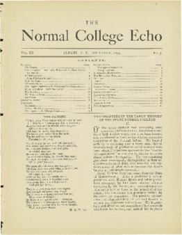 The Echo Volume 3 Number 5