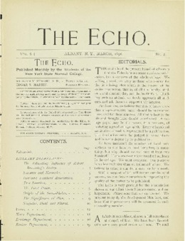 The Echo Volume 6 Number 8