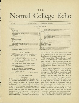 The Echo Volume 2 Number 7