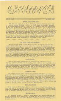 Skandalon, Vol. 2, No. 8