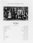 New York State Normal College, the cast of The...